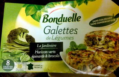 Galettes de légumes - Product