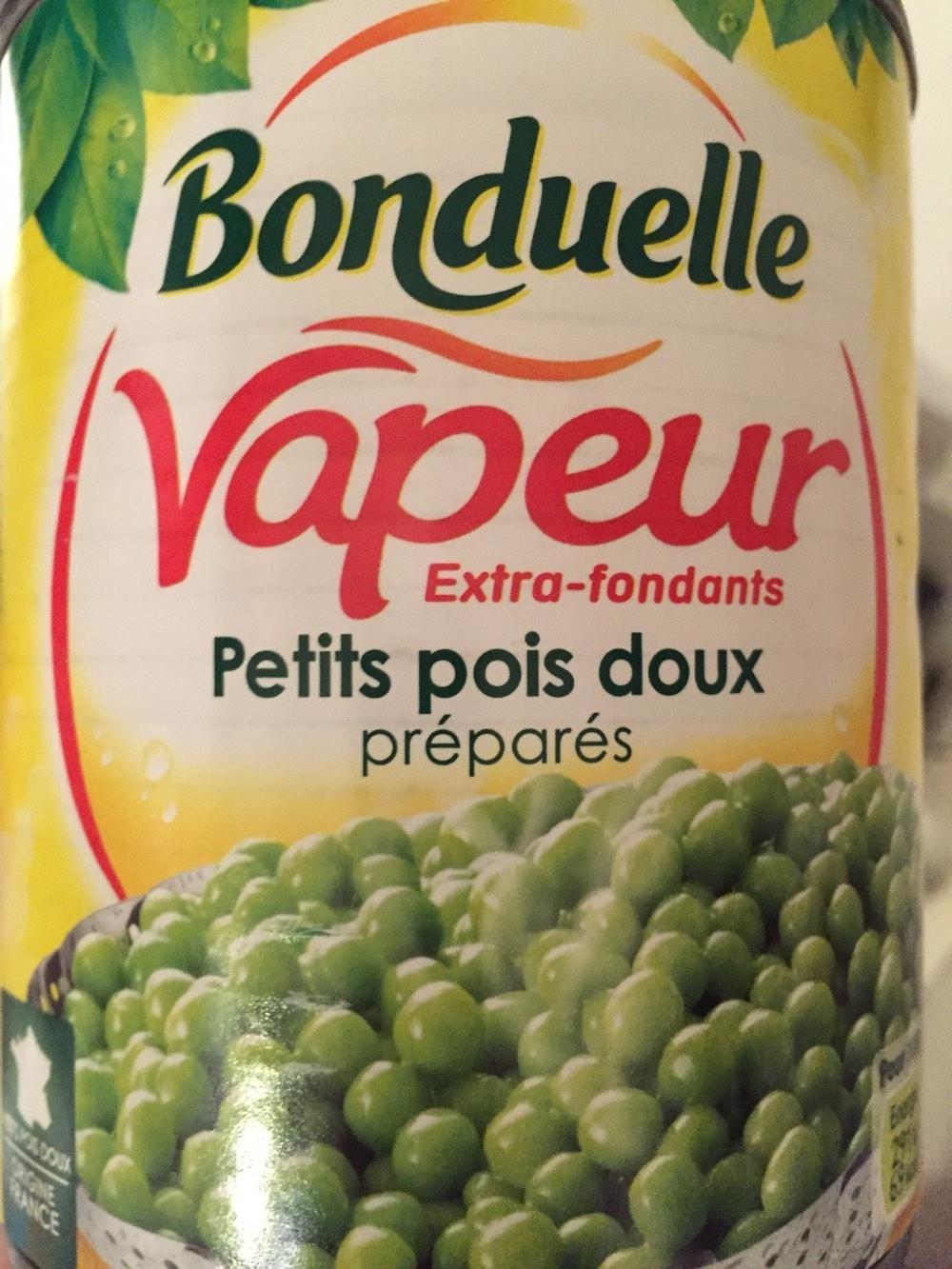 Vapeur Pois Doux Bonduelle - Produit