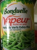 Haricots Verts Extra-Fins et Tendres Vapeur - Product