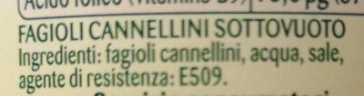 fagioli cannellini al vapore - Ingredients - it