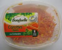 Carottes râpées à la Coriandre - Produit - fr