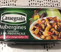 Aubergines cuisinées à la provençale - Ingredients