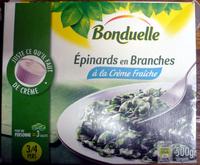 Épinards en branches à la crème fraîche - Produit