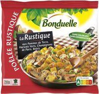 Poêlée La Rustique - Pommes de terre, Bolets, Champignons de Paris - Produit - fr