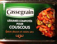 Légumes comportés pour Couscous - Produto - fr