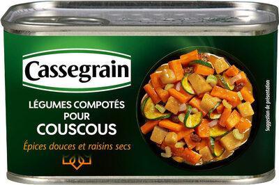 Légumes compotés pour couscous - Produit - fr