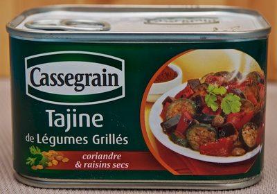 Tajine de Légumes Grillés - coriandre et raisins secs - Product - fr