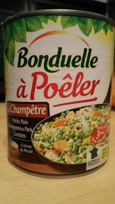La Champêtre - petits pois - champignons de Paris - carottes - 2