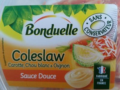 Coleslaw (Carotte, Chou blanc & Oignon), Sauce Douce - Produit