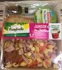 Formule Salade + Dessert Jambon dés de Gouda + Délice à la framboise - Product