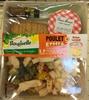 Formule Salade + Dessert Poulet grillé + Crème caramel - Product