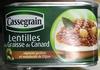Lentilles à la Graisse de Canard oignons grelots et moutarde de Dijon - Produit