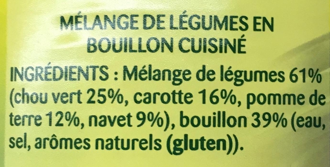Légumes façon Potée - Ingrédients - fr