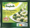 3 Légumes - Choux-Fleurs Brocolis Choux romanesco - Prodotto