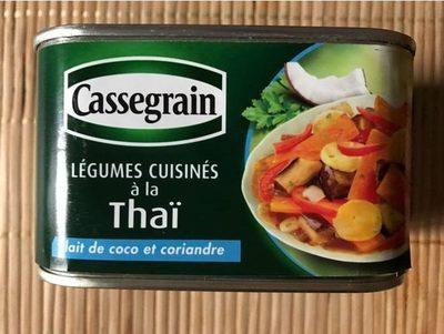 Légumes cuisinés à la Thaï lait de coco et coriandre - Product