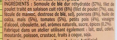 Taboulé poulet rôti - Ingrédients