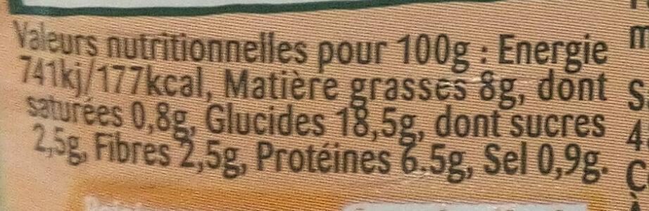 Taboulé Poulet Rôti - Voedingswaarden