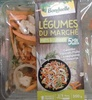 Légumes du marché Carottes/Haricots Plats/Champignons/Romarin - Product