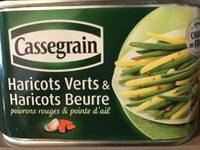 Haricots verts et haricots beurre - Product