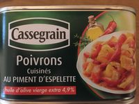 Poivrons au piment d'Espelette - Produit