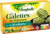 Galettes Epinards Brocolis Pois doux - Produit
