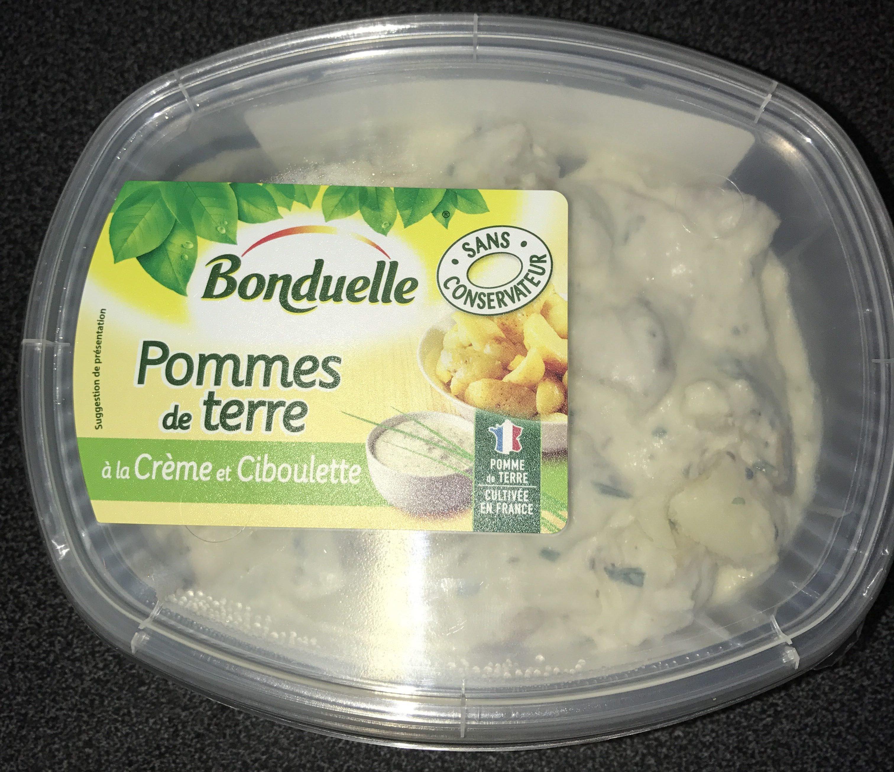 Pommes de terre à la crème et ciboulette - Produit
