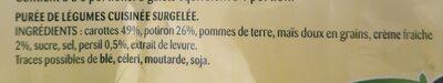 Purée Délice - Carottes, Potiron, Crème - Si Douce - 7