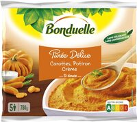 Purée Délice - Carottes, Potiron, Crème - Si Douce - Product - fr