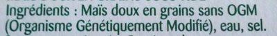 Touche de Maïs - Ingrédients - fr