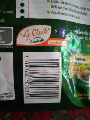 Haricots verts et Haricots beurre - Product - fr