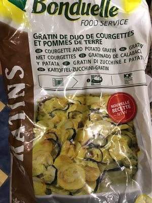 Gratin de duo de courgettes et pomme de terre - Product