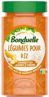 Légumiô en Sauce - Courgettes Jaunes et Crème - Produkt - cs