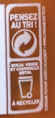 Légumiô en Sauce - Courgettes Jaunes et Crème - Recycling instructions and/or packaging information - cs