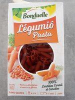 Légumiô Pasta Lentilles Corail et Carottes - Product