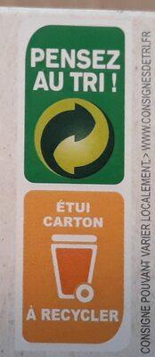 Légumiô - Pâtes de Lentilles Corail et Carottes - Recyclinginstructies en / of verpakkingsinformatie - fr