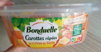 Carottes râpées au Citron de Sicile - Product