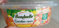 Carottes râpées au Citron de Sicile - Product - fr