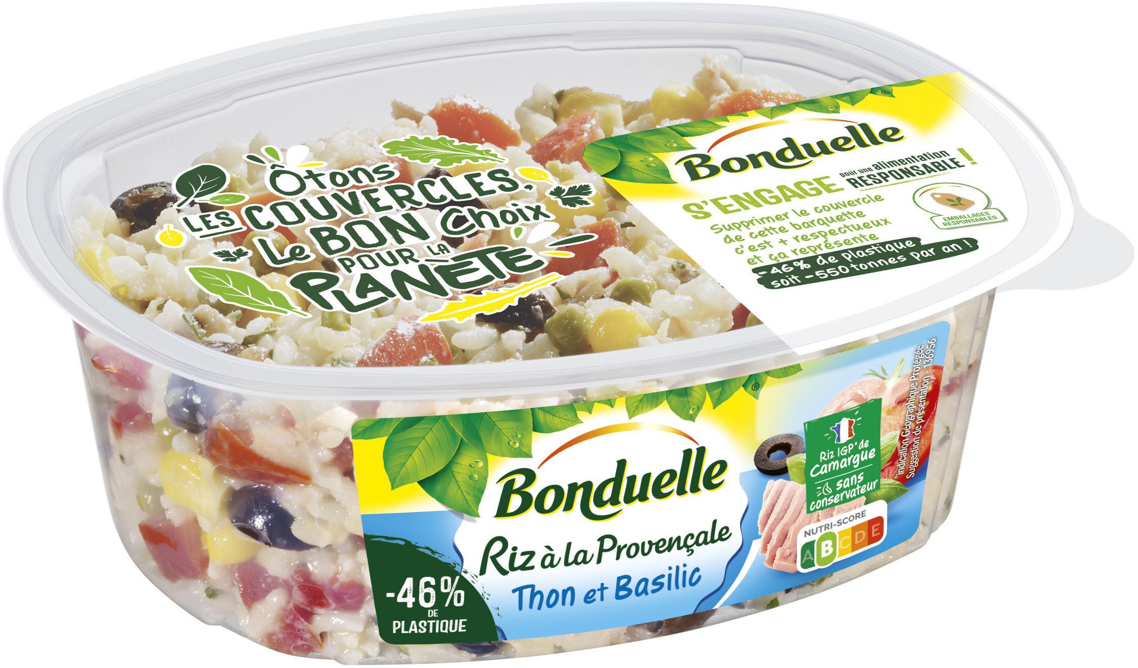 Riz à la Provençale au Thon & Basilic - Producto - fr
