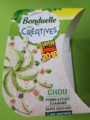 Chou pomme & feves edamame - Produit