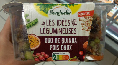 Duo quinoa pois doux - Product - fr