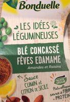 Les idées legumineuses : Blé concassé Fèves Edamame - Product