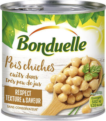 Pois Chiches cuits dans très peu de jus - Prodotto - fr