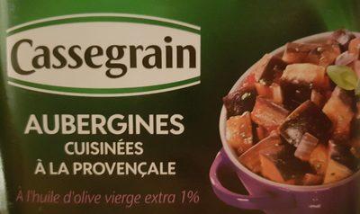 Aubergines cuisinées à la provencale - Product