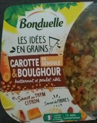 Carotte & Boulghour butternut et poulet rôti - Product