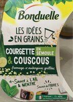 Courgettes & couscous en semoule - Product