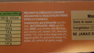 Mix céréales veggissiMmmm - Ingrediënten