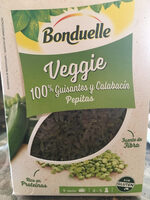 Veggie 100% guisantes y calabacin - Producte