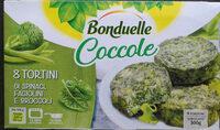 Coccole Tortini Spinaci Fagiolini Broccoli - Product - it