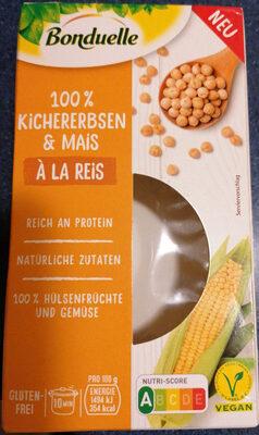 100% Kichererbsen & Mais - Produkt - de