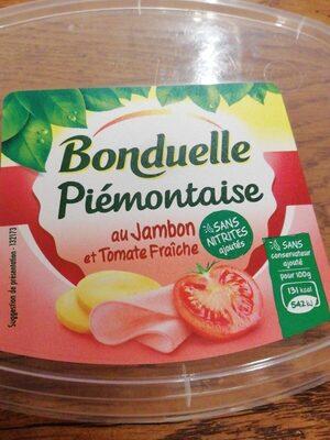 Piémontaise au jambon et tomate fraiche - Produit - fr